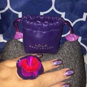Marc Jacobs Lola Solid Perfume Ring with pouch